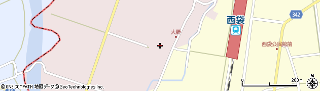 山形県東田川郡庄内町大野太農15周辺の地図
