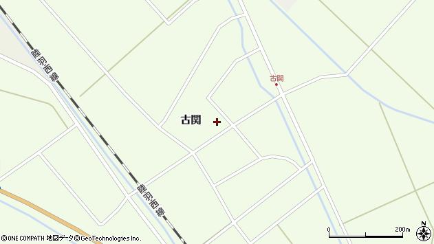 山形県東田川郡庄内町古関古館110周辺の地図