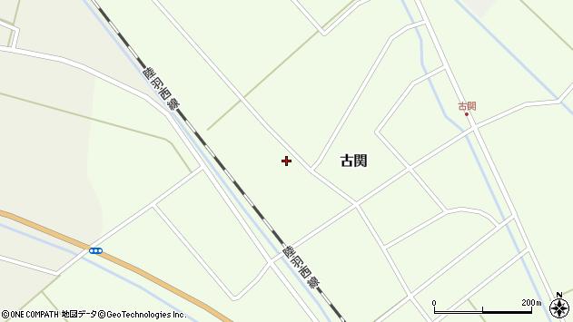 山形県東田川郡庄内町古関西の下割9周辺の地図