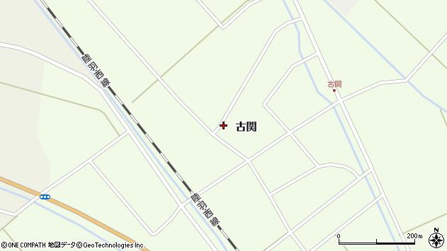 山形県東田川郡庄内町古関古館172周辺の地図