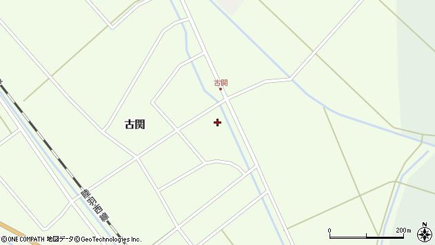 山形県東田川郡庄内町古関古館1周辺の地図