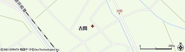 山形県東田川郡庄内町古関古館109周辺の地図