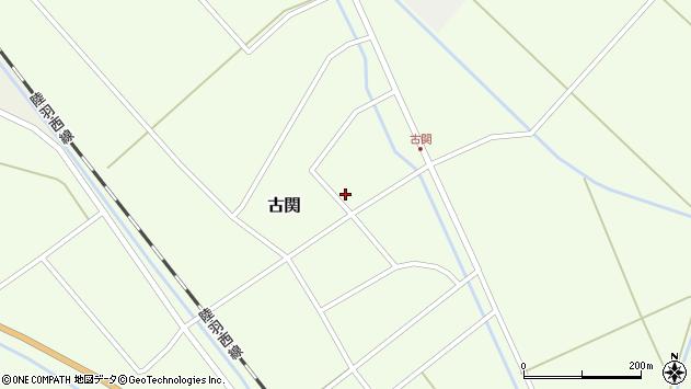 山形県東田川郡庄内町古関古館115周辺の地図