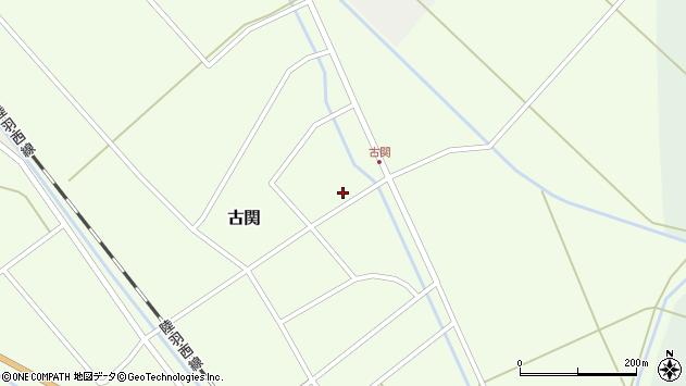 山形県東田川郡庄内町古関古館15周辺の地図