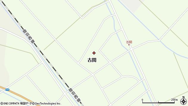 山形県東田川郡庄内町古関古館164周辺の地図