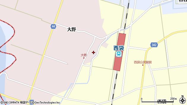 山形県東田川郡庄内町大野太農28周辺の地図