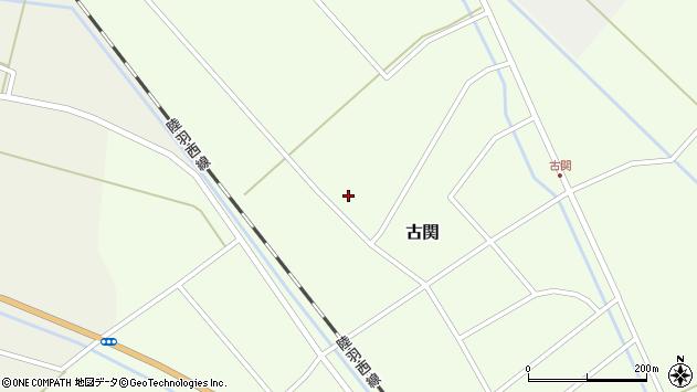 山形県東田川郡庄内町古関古館171周辺の地図