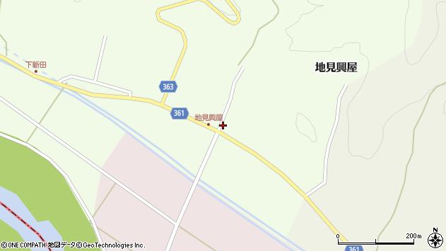 山形県酒田市地見興屋村東31周辺の地図