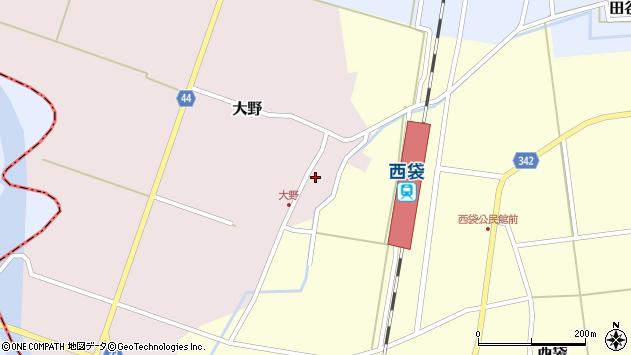 山形県東田川郡庄内町大野太農31周辺の地図