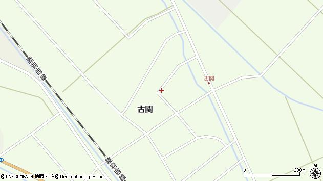 山形県東田川郡庄内町古関古館117周辺の地図