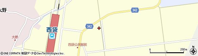 山形県東田川郡庄内町西袋深17周辺の地図