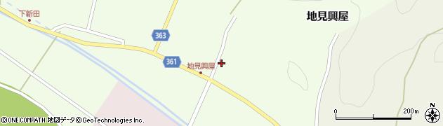 山形県酒田市地見興屋村東39周辺の地図
