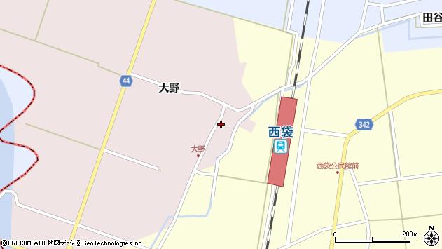 山形県東田川郡庄内町大野太農50周辺の地図