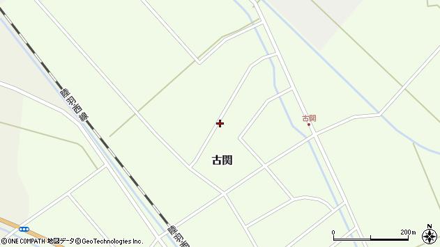 山形県東田川郡庄内町古関古館160周辺の地図