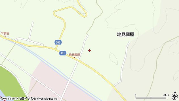 山形県酒田市地見興屋村東43周辺の地図