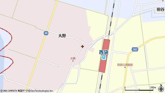 山形県東田川郡庄内町大野太農49周辺の地図