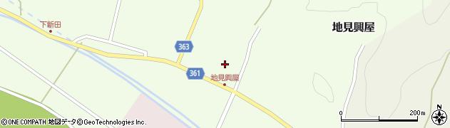 山形県酒田市地見興屋村東35周辺の地図