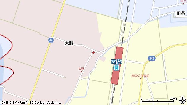 山形県東田川郡庄内町大野太農46周辺の地図