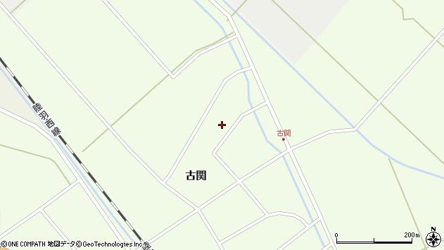 山形県東田川郡庄内町古関古館152周辺の地図