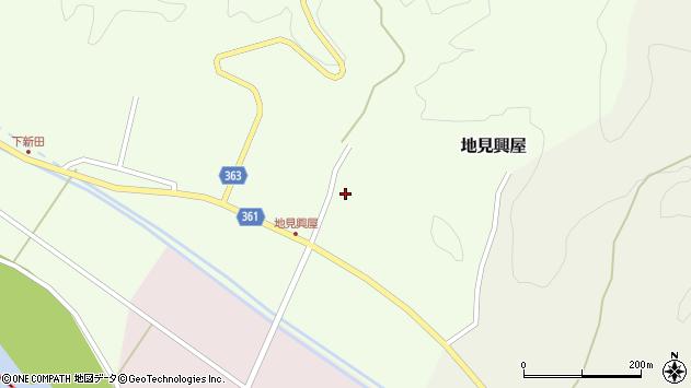 山形県酒田市地見興屋村東41周辺の地図