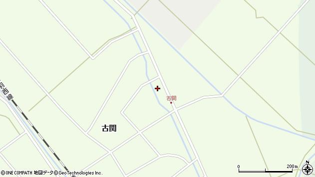 山形県東田川郡庄内町古関古館9周辺の地図