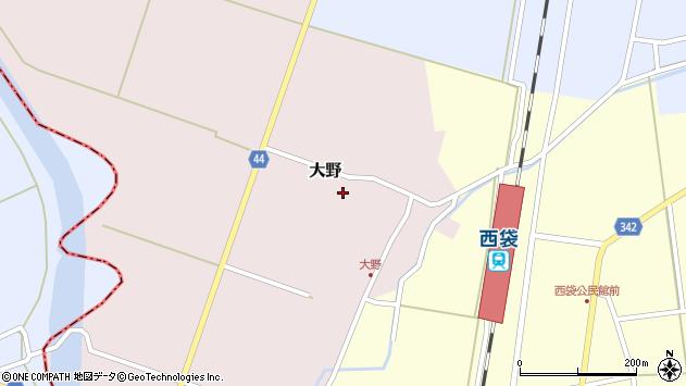 山形県東田川郡庄内町大野前田17周辺の地図