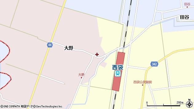 山形県東田川郡庄内町大野太農69周辺の地図