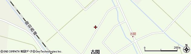 山形県東田川郡庄内町古関古館197周辺の地図