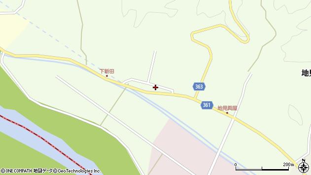 山形県酒田市地見興屋下谷地20周辺の地図