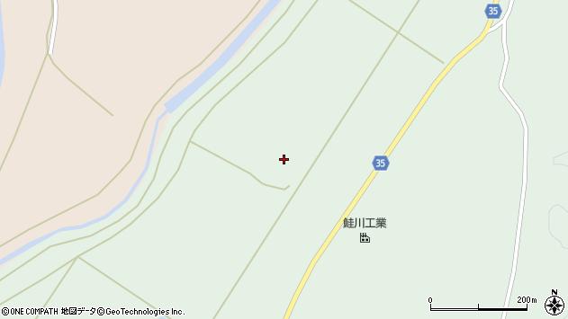 山形県最上郡鮭川村京塚1626周辺の地図