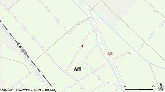 山形県東田川郡庄内町古関古館150周辺の地図