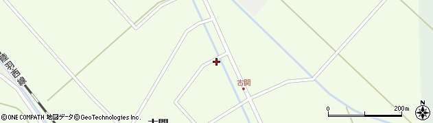 山形県東田川郡庄内町古関古館12周辺の地図