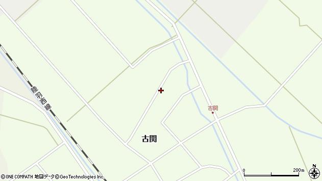 山形県東田川郡庄内町古関古館146周辺の地図