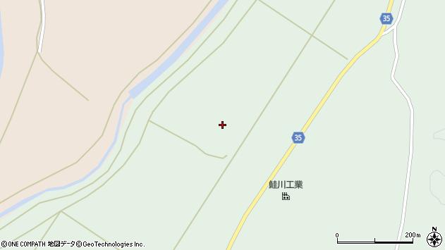 山形県最上郡鮭川村京塚1625周辺の地図