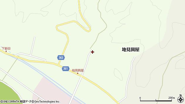 山形県酒田市地見興屋村東46周辺の地図