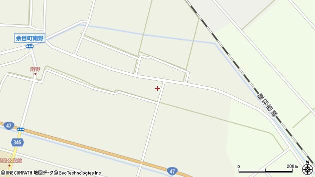 山形県東田川郡庄内町南野南浦3周辺の地図