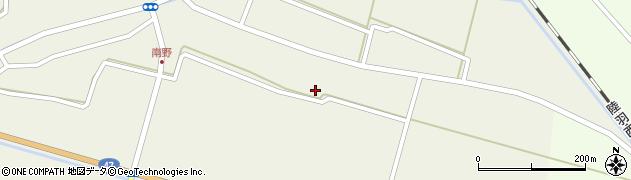 山形県東田川郡庄内町南野南浦39周辺の地図