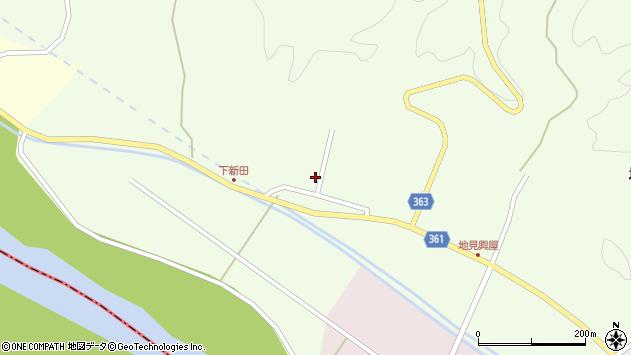 山形県酒田市地見興屋前割61周辺の地図