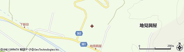 山形県酒田市地見興屋前割19周辺の地図