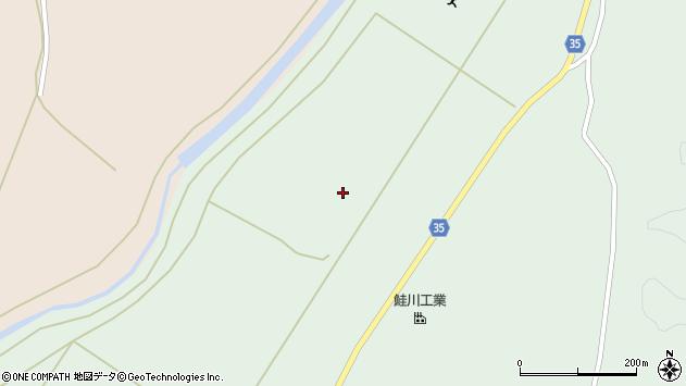 山形県最上郡鮭川村京塚1620周辺の地図