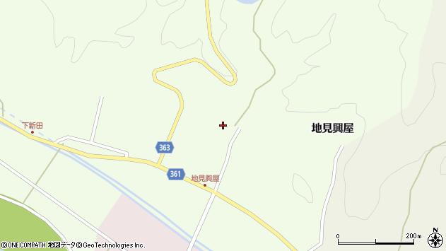 山形県酒田市地見興屋村東59周辺の地図