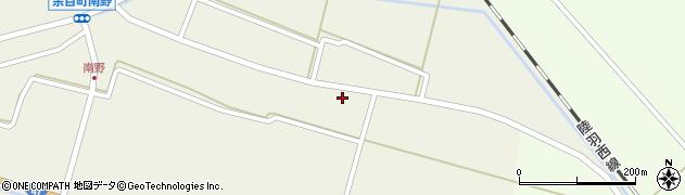 山形県東田川郡庄内町南野南浦16周辺の地図