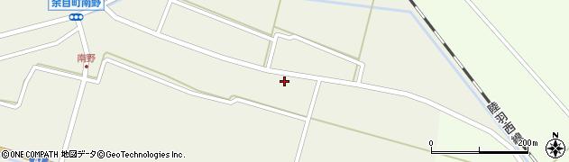 山形県東田川郡庄内町南野南浦24周辺の地図