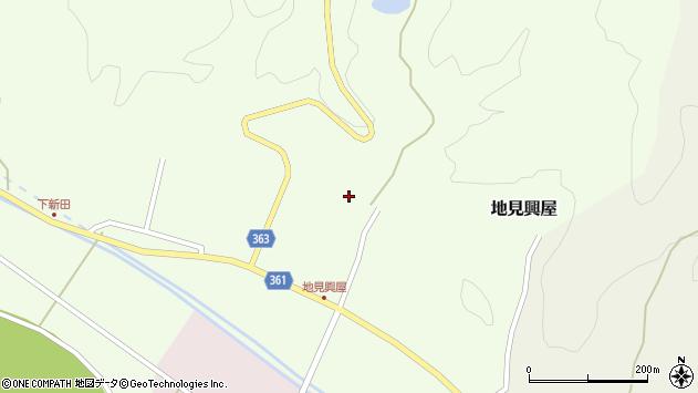 山形県酒田市地見興屋村東60周辺の地図