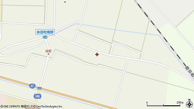 山形県東田川郡庄内町南野南浦36周辺の地図