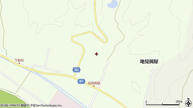 山形県酒田市地見興屋村東62周辺の地図
