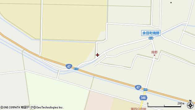山形県東田川郡庄内町南野西野85周辺の地図