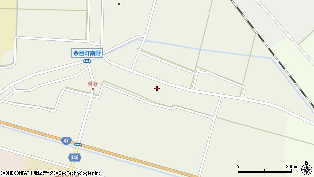 山形県東田川郡庄内町南野南浦44周辺の地図