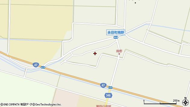 山形県東田川郡庄内町南野南浦121周辺の地図