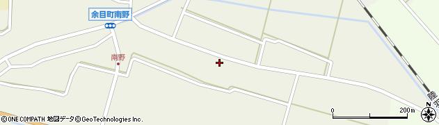 山形県東田川郡庄内町南野南浦37周辺の地図